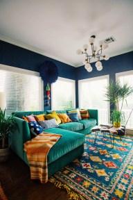 Cozy Green Livingroom Ideas 39