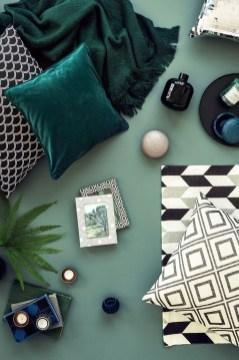 Cozy Green Livingroom Ideas 43