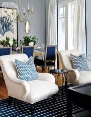 Lovely Blue Livigroom Ideas 02