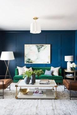 Lovely Blue Livigroom Ideas 08