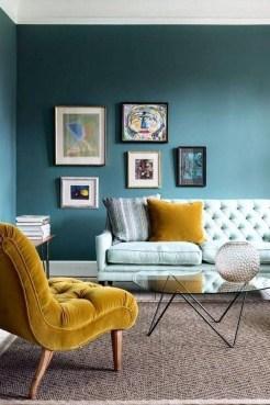 Lovely Blue Livigroom Ideas 09