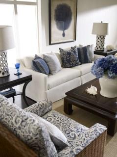 Lovely Blue Livigroom Ideas 19