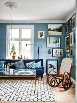 Lovely Blue Livigroom Ideas 26