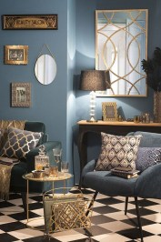 Lovely Blue Livigroom Ideas 28
