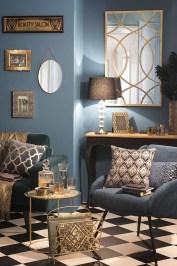 Lovely Blue Livigroom Ideas 28
