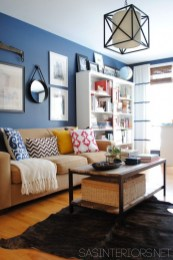 Lovely Blue Livigroom Ideas 39