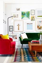 Lovely Colourful Sofa Ideas 05