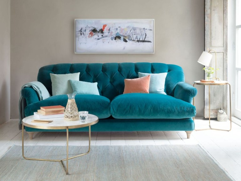 Lovely Colourful Sofa Ideas 14