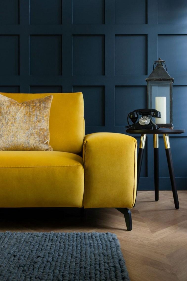 Lovely Colourful Sofa Ideas 24