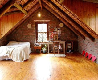 Unique Wooden Attic Ideas 03