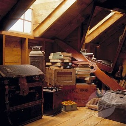 Unique Wooden Attic Ideas 17