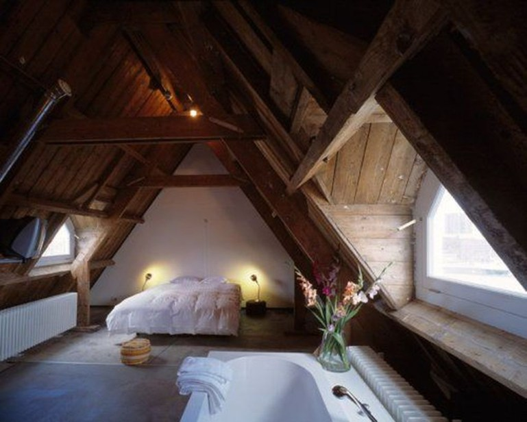 Unique Wooden Attic Ideas 23