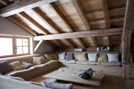 Unique Wooden Attic Ideas 28