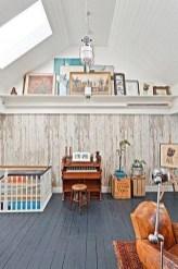 Unique Wooden Attic Ideas 32