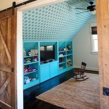 Unique Wooden Attic Ideas 36