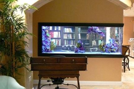 Amazing Aquarium Design Ideas Indoor Decorations 38