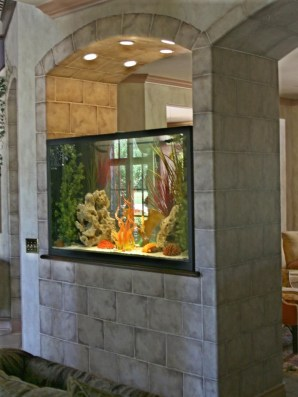 Amazing Aquarium Design Ideas Indoor Decorations 40
