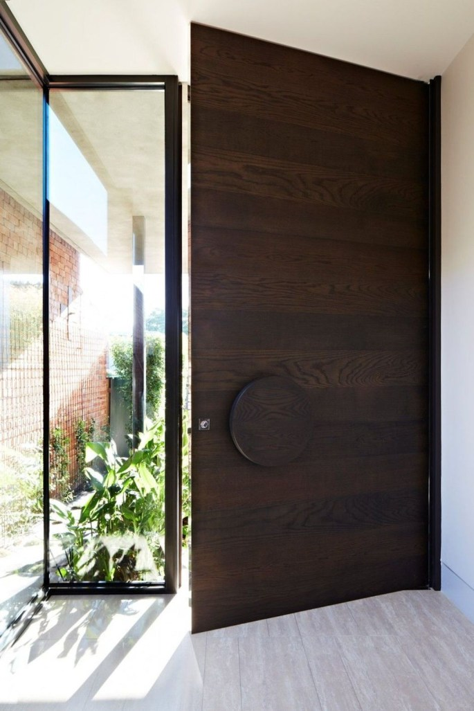 Amazing Contemporary Urban Front Doors Inspiration 11