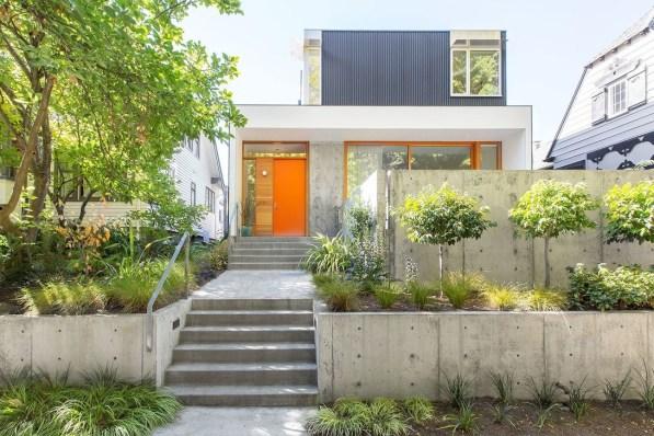 Amazing Contemporary Urban Front Doors Inspiration 24