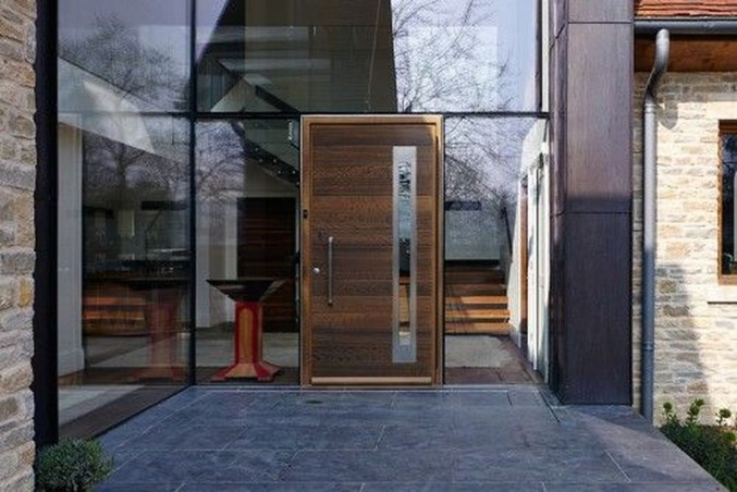 Amazing Contemporary Urban Front Doors Inspiration 25