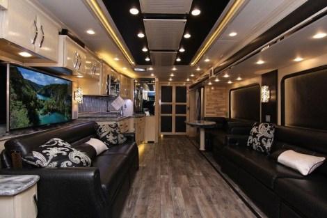 Amazing Luxury Travel Trailers Interior Design Ideas 13