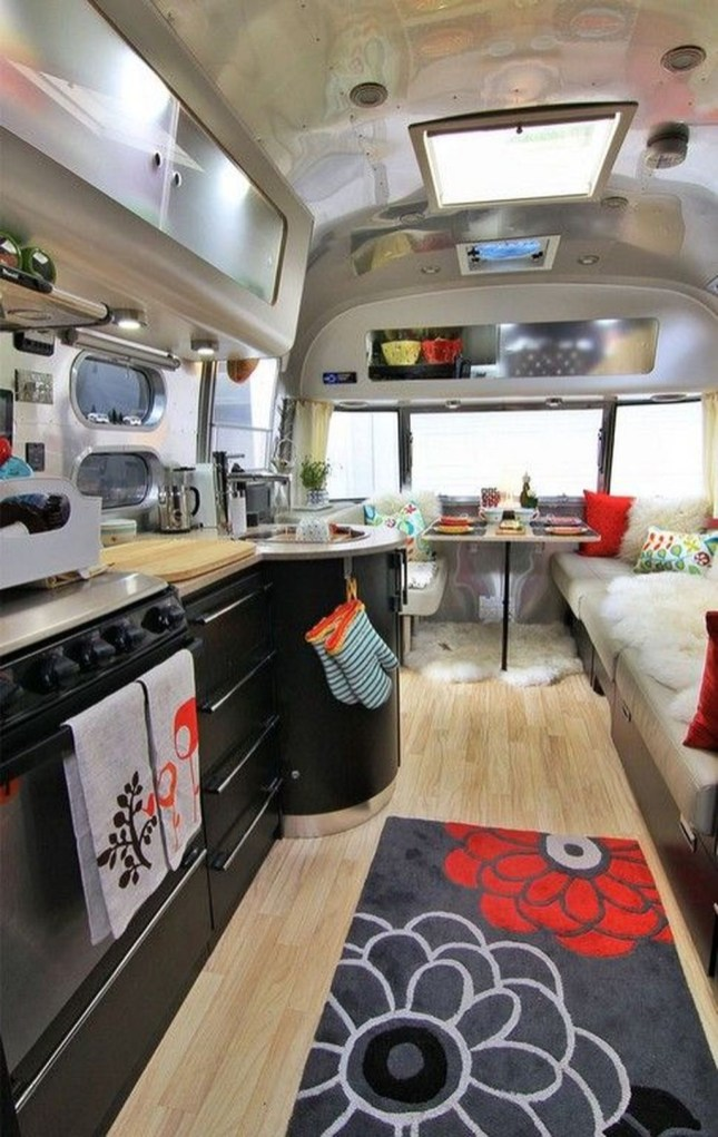 Amazing Luxury Travel Trailers Interior Design Ideas 21