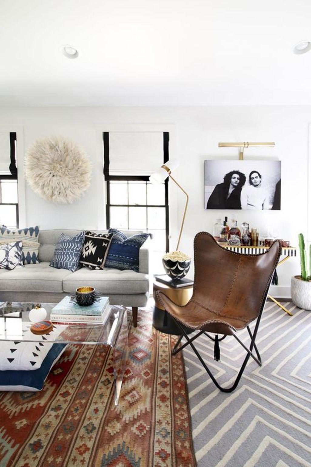 Amazing Modern Apartment Living Room Design Ideas 45