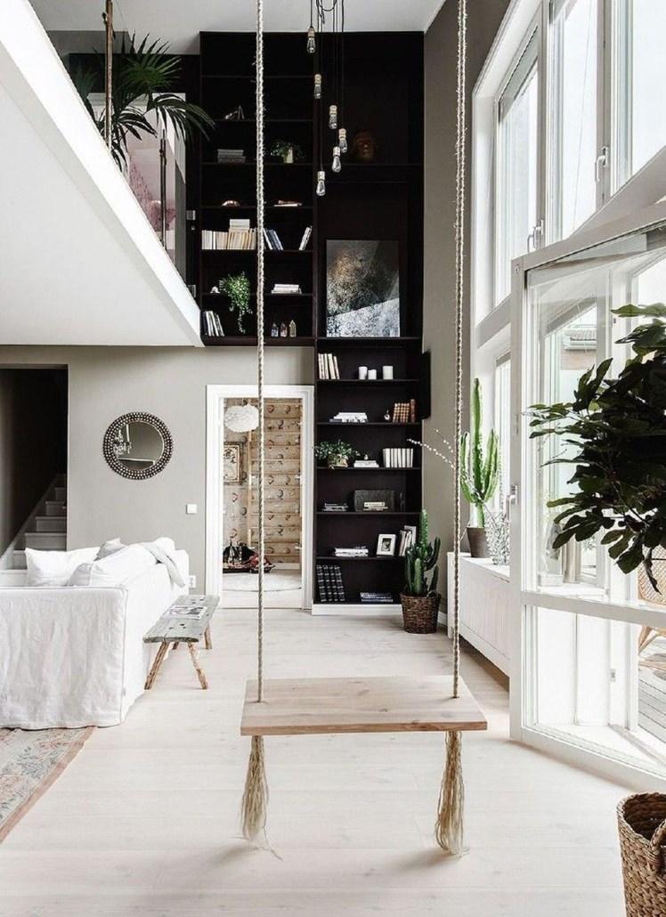 Amazing Relaxable Indoor Swing Chair Design Ideas 19