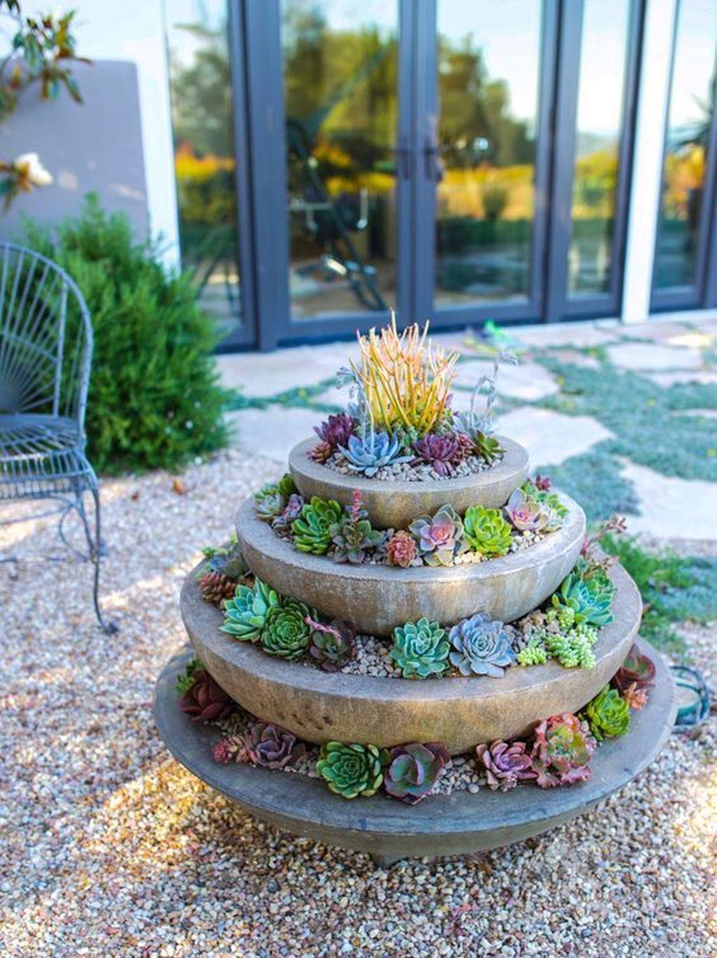 Amazing Succulents Garden Decor Ideas 21
