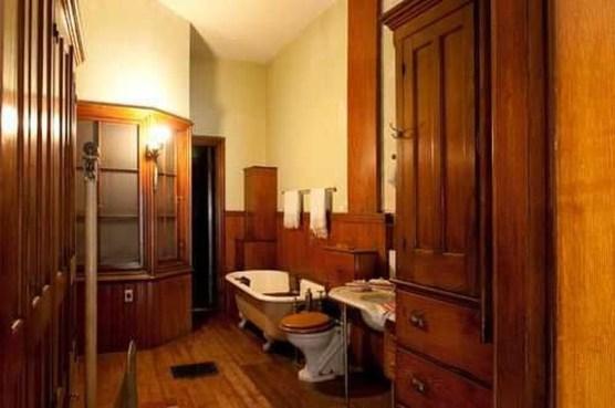 Awesome Country Mirror Bathroom Decor Ideas 03