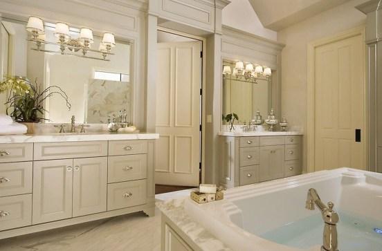Awesome Country Mirror Bathroom Decor Ideas 04