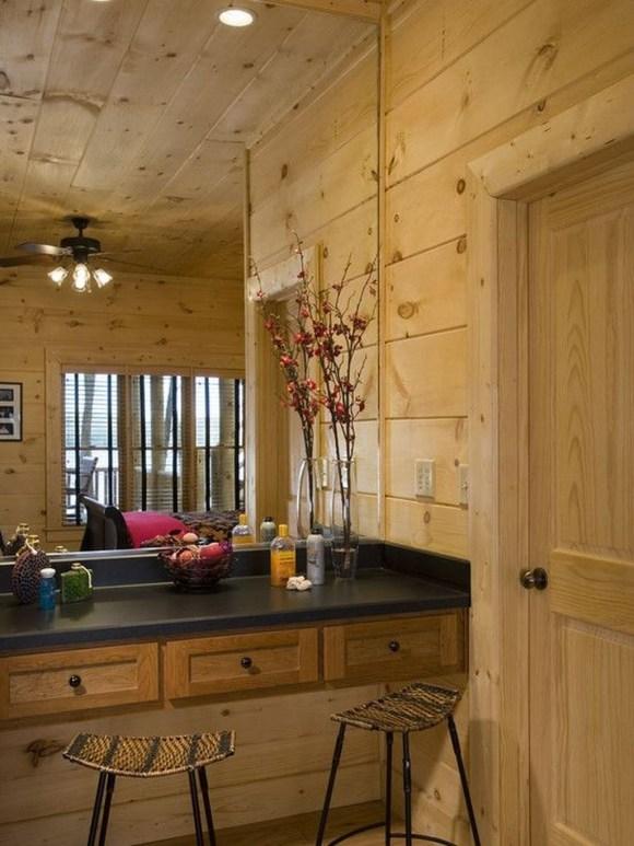 Awesome Country Mirror Bathroom Decor Ideas 06