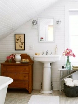 Awesome Country Mirror Bathroom Decor Ideas 11