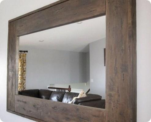 Awesome Country Mirror Bathroom Decor Ideas 22