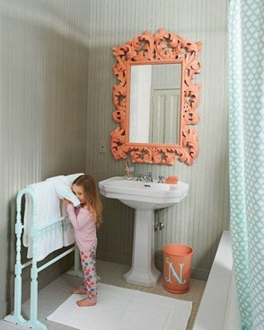 Awesome Country Mirror Bathroom Decor Ideas 31