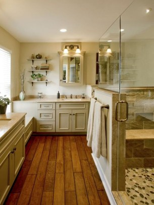 Awesome Country Mirror Bathroom Decor Ideas 41