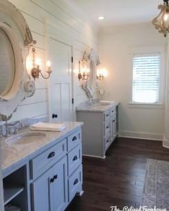 Awesome Country Mirror Bathroom Decor Ideas 45