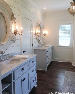 Awesome Country Mirror Bathroom Decor Ideas 45