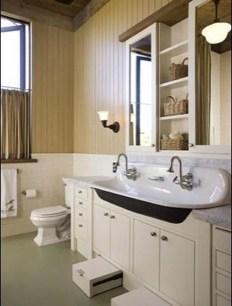 Awesome Country Mirror Bathroom Decor Ideas 46