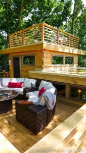 Awesome Treehouse Masters Design Ideas Will Make Dream 16