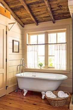 Cozy Wooden Bathroom Designs Ideas 09