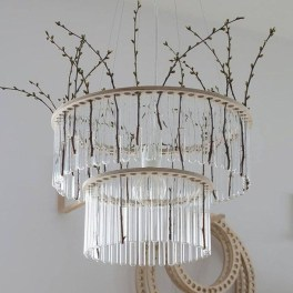 Creative Diy Chandelier Lamp Lighting 11