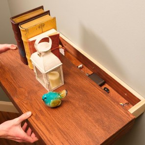 Creative Hidden Shelf Storage 04