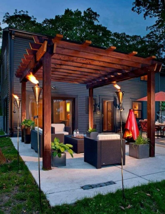 Creative Small Patio Design Ideas 40