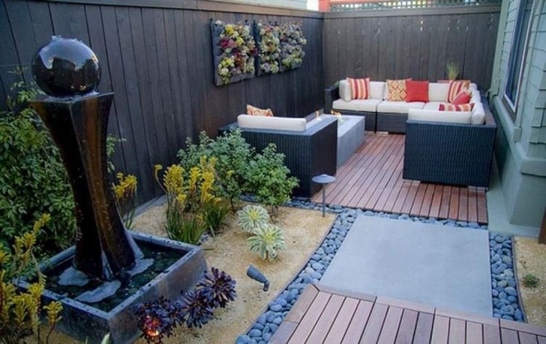 Creative Small Patio Design Ideas 41