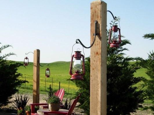 Fantastic Rustic Garden Light Landscaping Ideas 07