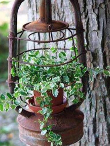 Fantastic Rustic Garden Light Landscaping Ideas 19