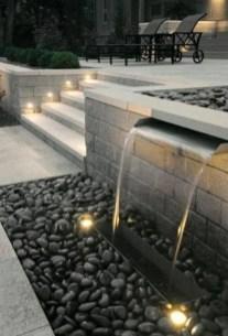 Fantastic Rustic Garden Light Landscaping Ideas 27