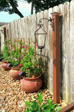 Fantastic Rustic Garden Light Landscaping Ideas 42