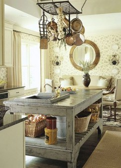 Gorgeous Rustic Country Style Kitchen Made By Wood 07